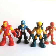 Lot 4pcs Marvel Spider Man Playskool Heroes Enemies Bundle Imaginext Figure Toy