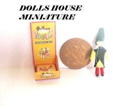 vintage  STYLE TOY BOXED puppet    DOLLS HOUSE miniatures