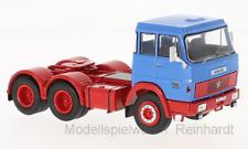 1/43 Ixo Henschel HS 19 TS 3-Achs Zugmaschine blau/rot 1966 TR012