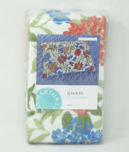 Martha Stewart Collection Cotton Gramercy Garden Pillow Sham - STANDARD NIP