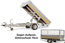Eduard Trailer Anhänger Kipper 2,6x1,5m 30cm Alu Bordwand 1,5T Holz & Blechboden