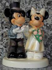 """Goebel Disney Figur """"Hochzeit Mickey & Minnie"""" * Rarität * Goebel Archivstück"""