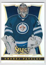 ONDREJ PAVELEC 2013-14 Panini Select Hockey Prizm Card #86 Jets N14