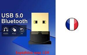 Clé USB Bluetooth V5.0 mini adaptateur Dongle Sans Fil pour PC