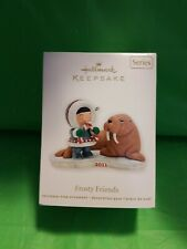 Hallmark Keepsake 2011 Ornament Frosty Friends 32nd in Series Walrus Nib #Qx8747