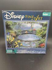 Disney Art Peter Ellenshaw  Pooh Reflections of Friendship 1000 Pc Jigsaw Puzzle