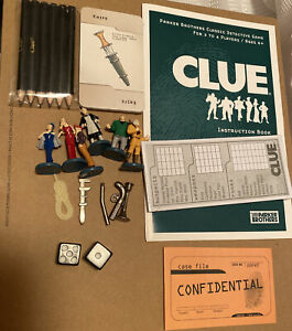 Clue board game replacement places 2006 bookshelf game