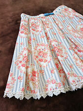 Romantec summer Stripe skirt shorts LIZ LISA JapanM Floral Hime Lolita Romagyaru