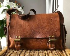 Beautiful Genuine Mulberry Vintage Shoulder Bag in Tan Oak Darwin Leather
