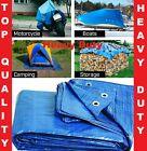 Tarpaulin Heavy Duty Waterproof Cover Roofing Ground Camping Caravan Sheet