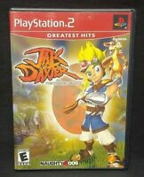Jak and Daxter Precursor PS2 Playstation 2 COMPLETE Game 1 Owner Near Mint Disc