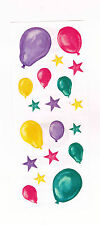 Creative Memories Bright Balloons & Stars Sticker Strip