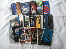 NHL 1987-88 - 2007-08 Edmonton Oilers MEDIA PRESS GUIDE program yearbook lot set