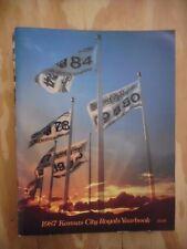 1987 Kansas City Royals Yearbook