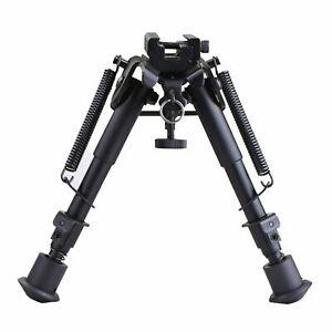 Hunting Rifle Bipod w/ Picatinni Rail Mount Adapter
