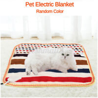 12v Pet Electric Blanket Heat Heated Heating Heater Pad Blanket Bed Dog Cat Mat
