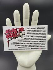 100 BewareTheNeedle Vaccine Info Cards – Español