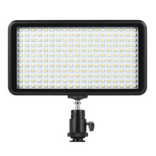 228 LED Video Light Lamp Panel Dimmable 20W 2000LM for Camera DV Camcorder O9P7