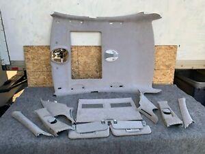 GRAY SUEDE/ALCANTARA INTERIOR SET OEM 03-06 MERCEDES E320 E350 E500 E55 W211