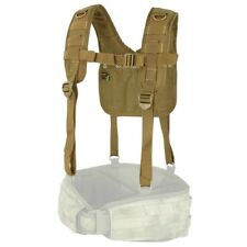 Tactical MOLLE H Harness Battle Belt Suspender COYOTE BROWN (CONDOR #215)