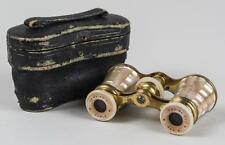 Lemaire, Pairs, AdjustableFrench Mother of Pearl Opera Glasses, in original case
