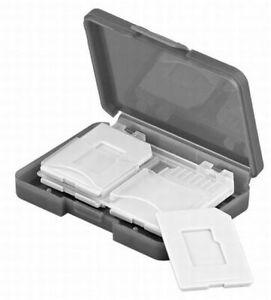 Aufbewahrungsbox für 4x SD Speicherkarten