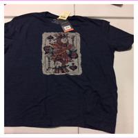 Lucky Brand Men's Handcrafted Short Sleeve T-Shirt XXL Blue