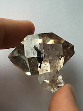 Radiant 40mm NY Herkimer diamond Gem-Top clarity & brilliance-Near perfect