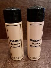 Set of Guardian Protection Products Leather Cleaner Protector 8 oz Bottles HTF