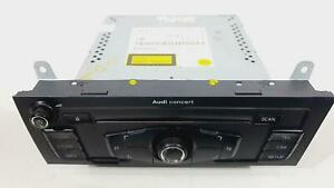2010 AUDI A4 RADIO STEREO HEAD UNIT CONCERT  8T2035186P  *NEEDS CODE