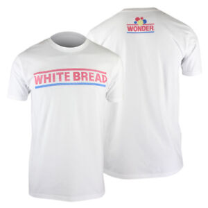 Panic Switch Mens Kurt Busch Wonder White Bread T-Shirt - White - S - nascar