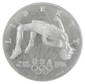 Proof 1996-P XXVI Olympiad Commemorative US Dollar 90% Silver Collectible *518