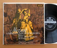 SXL 6132 ED1 Mozart Complete Dances & Marches Vol. 2 Boskovsky NEAR MINT Decca