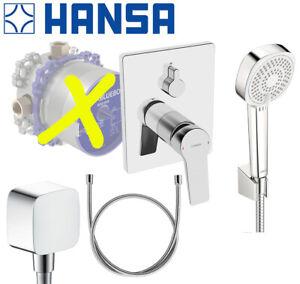 Hansa Twist Unterputz Armatur Set Wanne Badewannenarmatur Dusche OHNE Bluebox