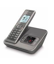 T-Sinus A206 Silbergrau Schnurlos Telefon mit Anrufbeantworter Schnurloses