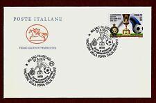 ITALIA 2011 -  FDC BUSTA PRIMO GIORNO INTER COPPA ITALIA 2010-2011