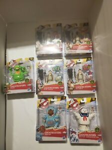 """👻NEW Ghostbusters Classic 1984 Fright Feature 5"""" lot of 7 - Not Released"""
