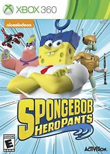Xbox 360 Spongebob Heropants Video Game multiplayer action adventure patrick