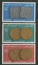 ALGERIA. 1977. Ancient Coins Set. SG: 731/33. Mint Never Hinged.