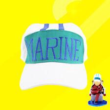 Japanese One Piece Marine Kappe Anime Manga Cosplay Cap Navy Hat Basebal