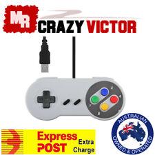 USB Super Nintendo SNES Controller For PC Mac Emulator Super Windows GamePad