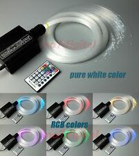 16W RGB LED plastic Fiber Optic Star Ceiling Kit Light 200pcsx 0.75mmx2m Fibre