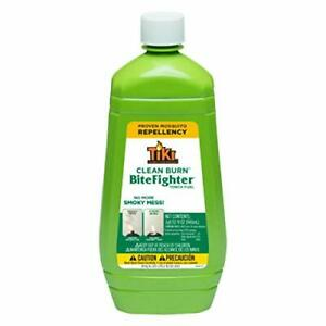 Tiki 1218071 Brand 32 oz. Clean Burn BiteFighter Fuel Torch Oil 32 ounce