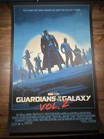 """Guardians of The Galaxy Vol 2"" Art Print Movie Poster By Matt Ferguson XX/500"