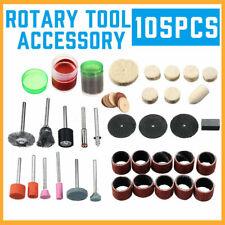 105Pcs Rotary Tool Accessory Kit For Grinding Polishing Engraving Multi-Tool Set