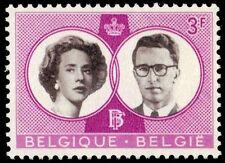 BELGIUM 561 (Mi1229) - King Baudouin and Queen Fabiola Wedding (pa54812)