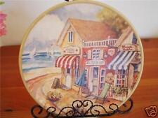 Ceramic Decoration Plate Memories Of Paris 21cm D