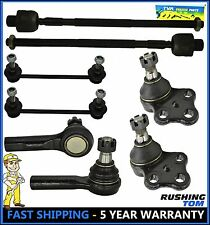 For 96-04 Nissan Pathfinder Qx4 8 Pc Set Tie Rod Lower Ball Joint Sway Bar Link