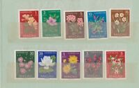 Portugal Colonies Macau Macao 1953 Flowers set of 10 unmounted mint.Original cov