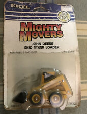 ERTL 1/64 MIGHTY MOVERS NEW HOLLAND SKID STEER LOADER PACKAGE ROUGH